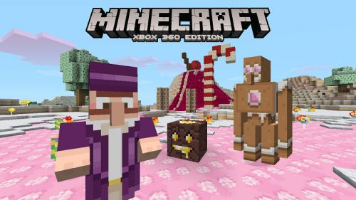 Minecraft : pack de textures Bonbons ! - floriangaming